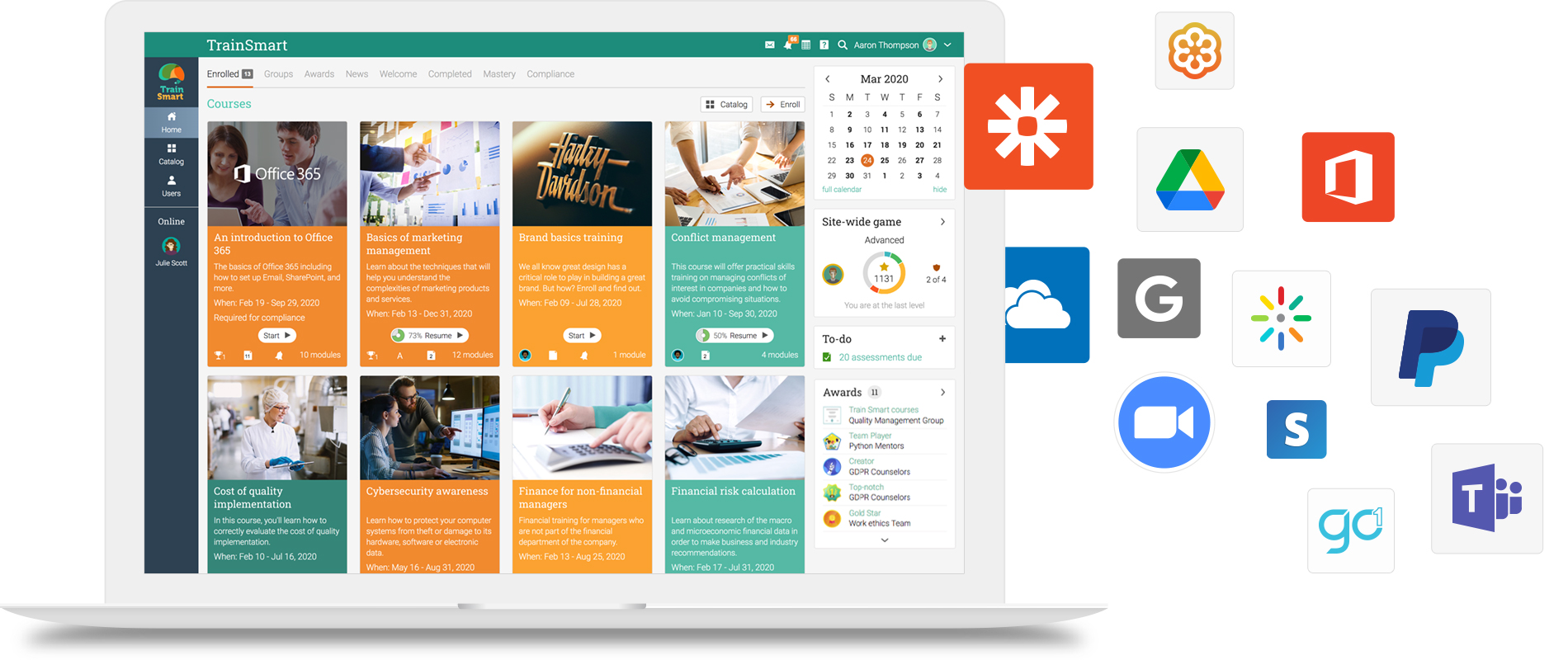 Integrate third-party tools with corporate lms » MATRIX LMS